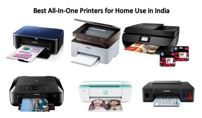 Best All-In-One Printers for Home Use in India