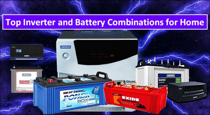 Best Inverter and Battery Combinations for Home