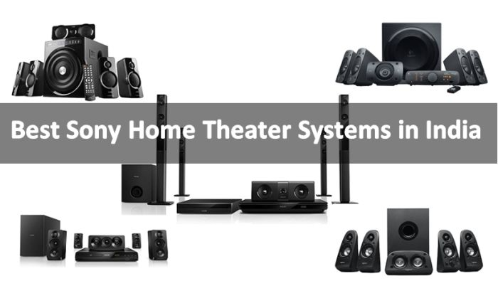 Best Sony Home Theater Systems in India