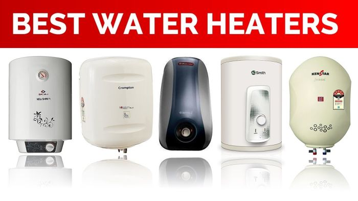 Best Geysers for Home Use in India